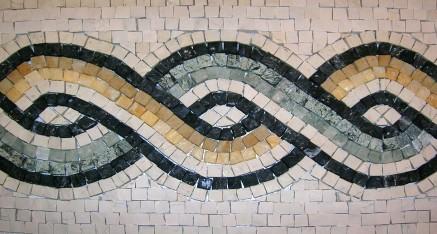 Décor mural mosaique pour pièce à vivre, créations ...