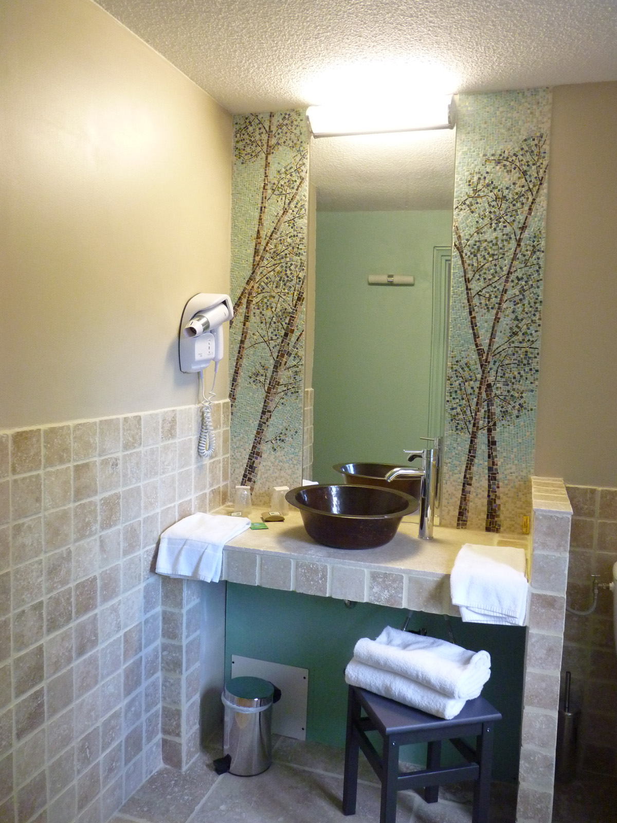 Salle de bain mosaique d cor salle de bain en mosa que for Salle de bain aix en provence