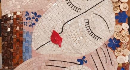 Les amoureux inspirés de Klimt par Isabelle