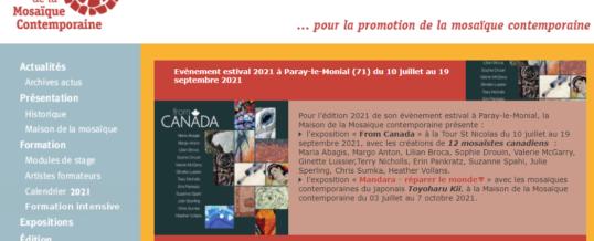 EXPOSITION D'ETE 2021 à Paray le Monial